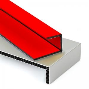Kırmızı Kompozit Panel Saray Aluboard