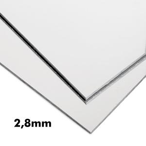 2,8mm Gümüş Ayna Pleksi Levhalar