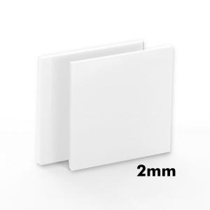 2mm Beyaz Pleksi Dökme Levhalar