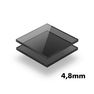 2,8mm Füme Pleksi Dökme Levhalar