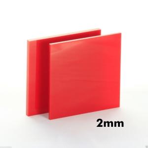 2mm Kırmızı Pleksi Dökme Levhalar