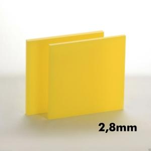 2,8mm Sarı Pleksi Dökme Levhalar
