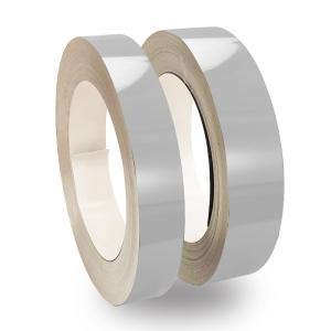 Gümüş Parlak Alüminyum Şerit Rulo 0,70mm 100metre 5cm, 6cm ve 8cm