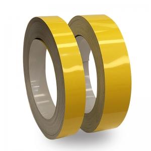 Sarı Parlak Alüminyum Şerit Rulo 0,60mm 100metre 6cm ve 8cm