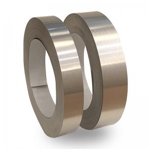 Gümüş Satine Alüminyum Şerit Rulo 0,60mm 100metre  6cm ve 8cm