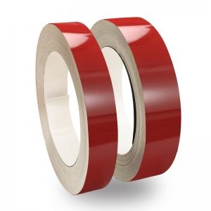 Kırmızı Parlak Alüminyum Şerit Rulo 0,70mm 100metre  6cm ve 8cm