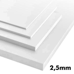 2,5mm Beyaz Dekota Levha