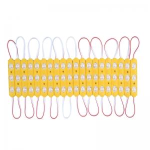 Sarı 1,2W Mercekli Enjeksiyon Modül Led 20 Adet