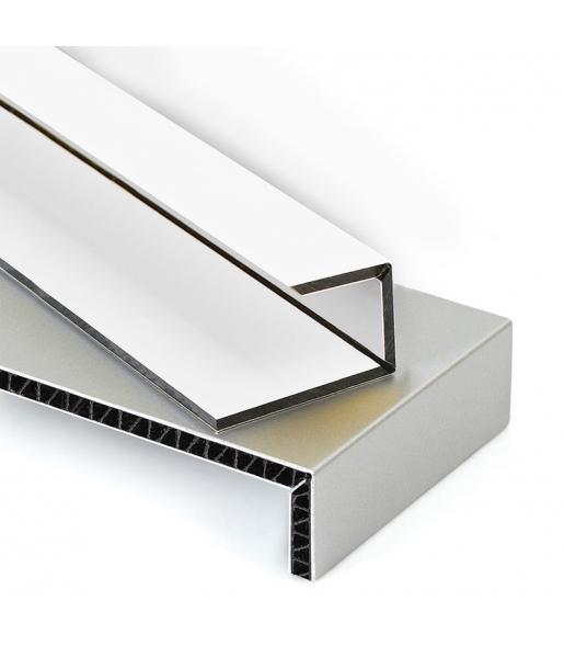 ALÜMİNYUM ŞERİT 0,60 x 75 mm / 100 metre SATİNE (FIRÇA DESENLİ) ROSE GOLD